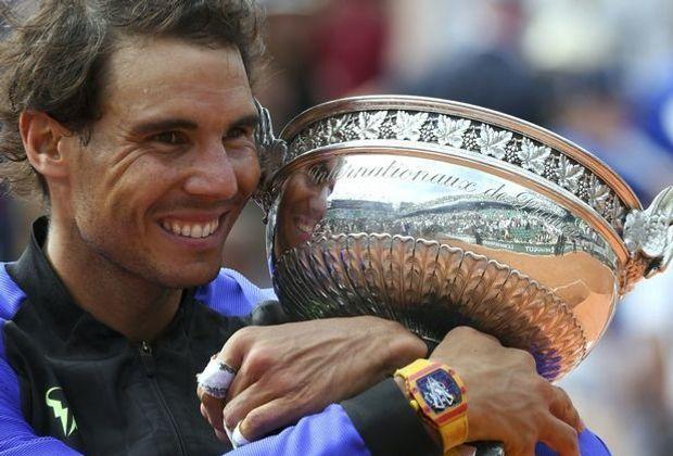 Rafael Nadal gewinnt zum 10. Mal die French Open