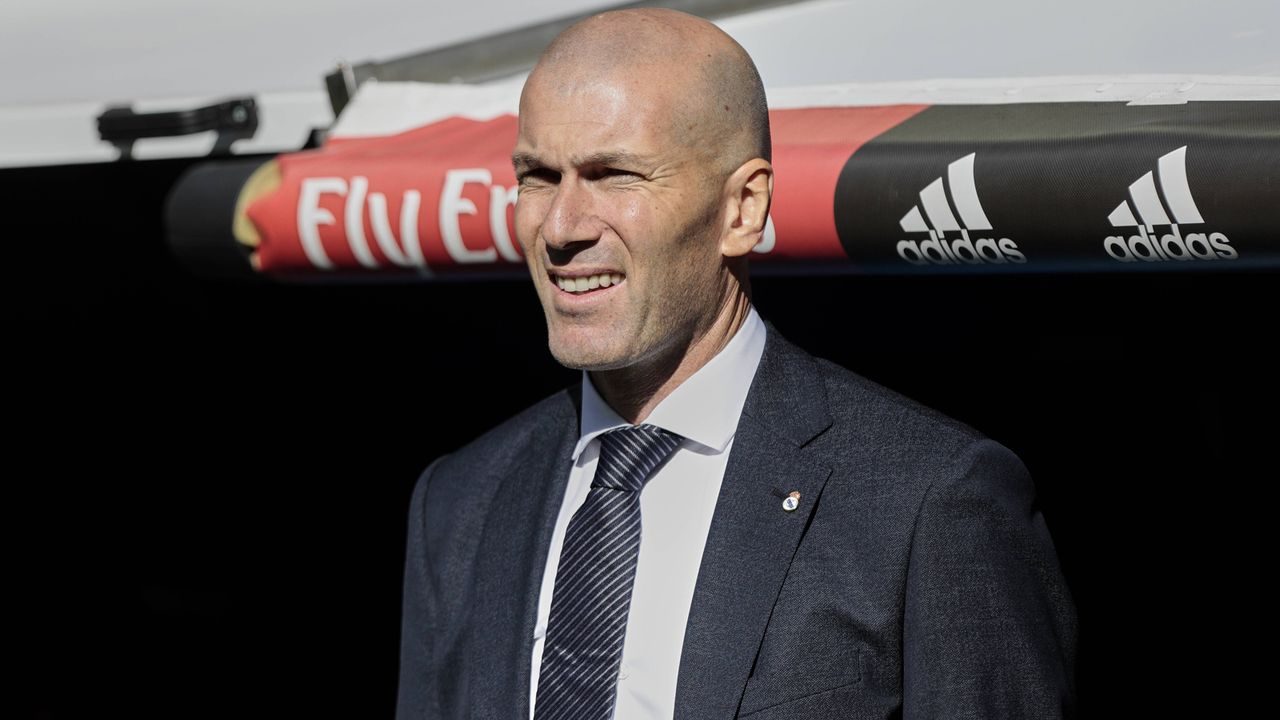 Zinedine Zidane (Real Madrid 2016-18 und 2019-?) - Bildquelle: Imago
