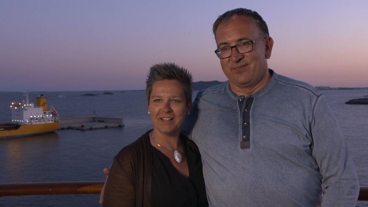 Die meisten Deutschen lieben Kreuzfahrten! Deswegen geht es diesmal gemeinsam mit der Aida Stella von Palma de Mallorca nach Lissabon und zurück. Vo... - Bildquelle: kabel eins