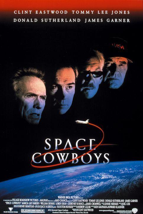 """""""Space Cowboys"""" - Plakatmotive - Bildquelle: Warner Bros. Pictures"""