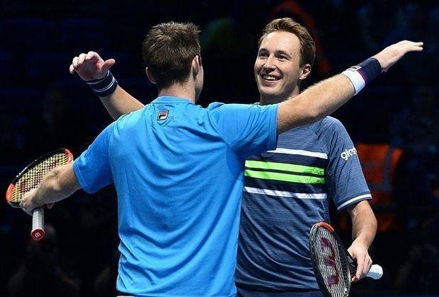 Kontinen (r.) und Peers gewinnen das ATP-Doppel-Finale
