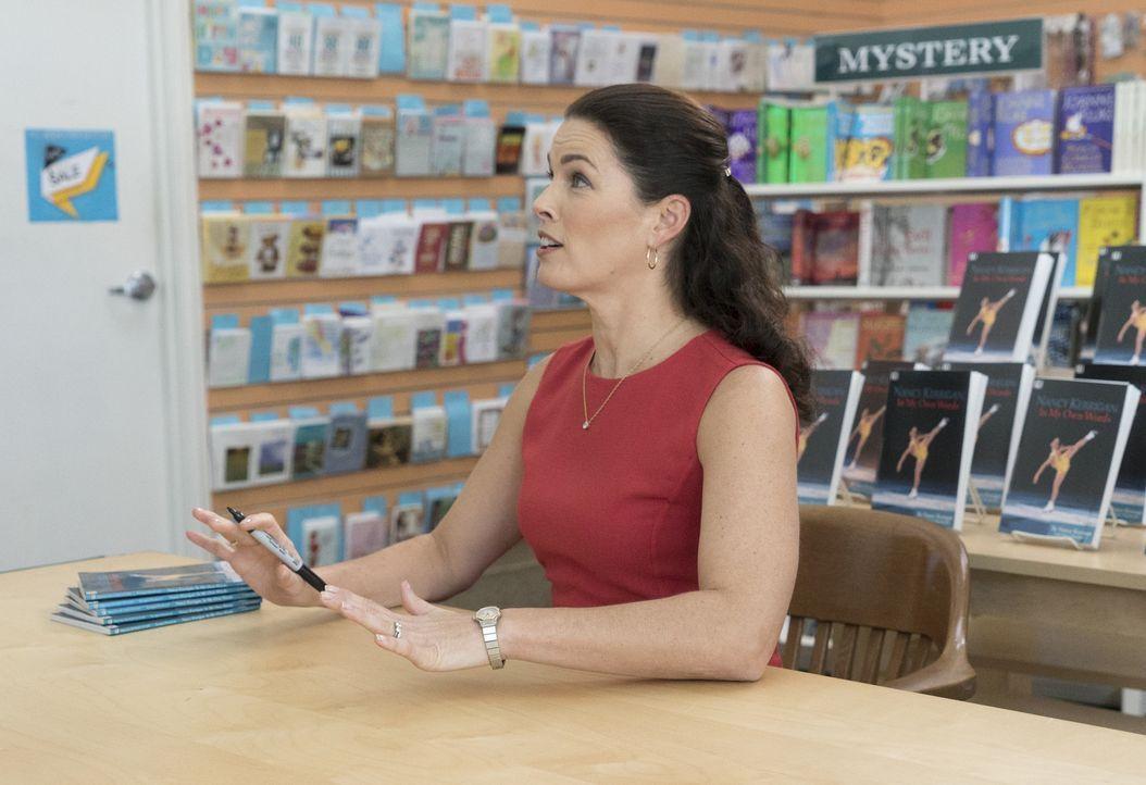 Gerät ins Visier von Jessica: Nancy Kerrigan (Nancy Kerrigan) ... - Bildquelle: 2017-2018 American Broadcasting Companies. All rights reserved.