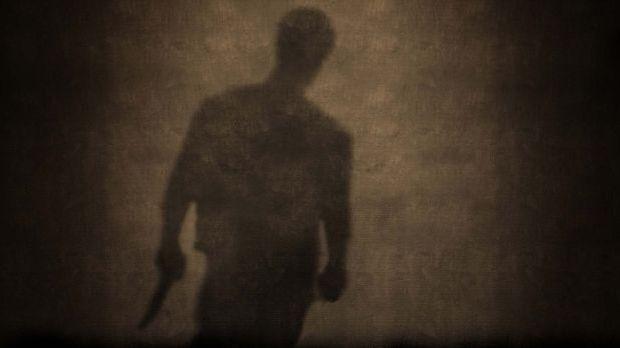 Messerangriff Schatten