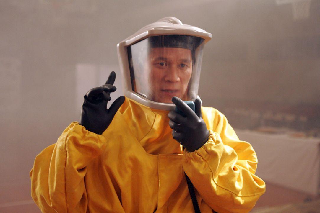 Die koreanische Regierung befürchtet eine Krankheitsepidemie und stellt alle Personen, die Kontakt mit dem Monster hatten, unter Quarantäne .... - Bildquelle: MFA