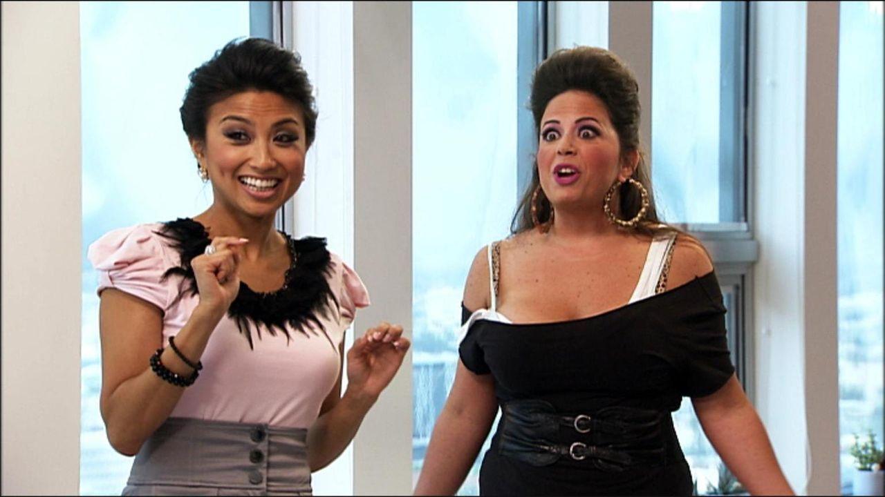 Bye, bye Beauty-Desaster! Host Jeannie Mai bekämpft modische Fehltritte und stylt ihre Kandidatinnen zu Power-Frauen. - Bildquelle: Universal Pictures
