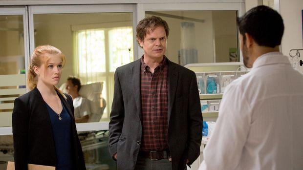 Schlechte Nachrichten für Backstrom (Rainn Wilson, M.): Vor Nicole (Genevieve...