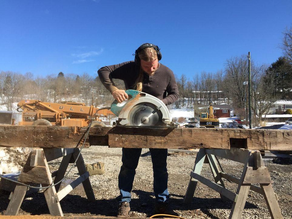 Die Scheunen-Profis sind dieses Mal in Lewisburg, um dort um eine neue Unterkunft für den Wochenmarkt zu bauen ... - Bildquelle: 2015, DIY Network/Scripps Networks, LLC. All Rights Reserved.