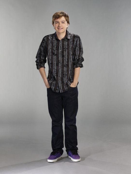 (9. Staffel) - Der etwas begriffsstutzige Jake Harper (August T. Jones) liebt das Essen und Fernsehen ... - Bildquelle: Warner Brothers Entertainment Inc.