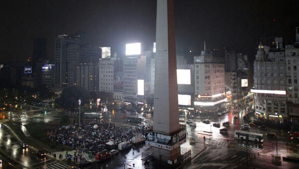 Freigabe für Siegesfeier: der Obelisco - Bildquelle: AFPSIDEMILIANO LASALVIA