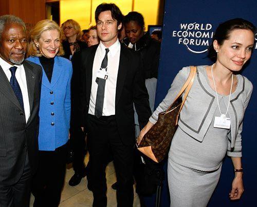 Galerie: Angelina Jolie und Brad Pitt - Bildquelle: AP