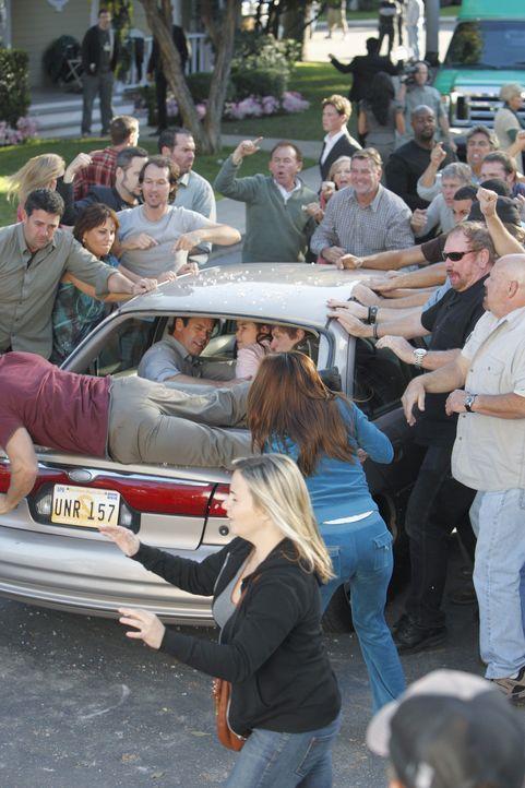 Die Bewohner der Wisteria Lane müssen zusehen, wie sich immer mehr ehemalige Gefängnisinsassen in dem Haus in der Straße niederlassen, das Paul als... - Bildquelle: ABC Studios