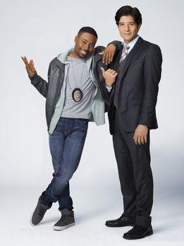 Rush Hour - (1. Staffel) - Carter (Justin Hires, l.), ein Polizist des LAPD,...