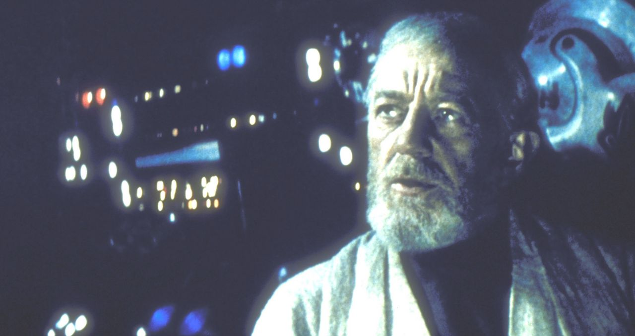 Fürchtet weder Tod noch Darth Vader: Obi-Wan (Alec Guinness). - Bildquelle: Lucasfilm LTD. & TM. All Rights Reserved.
