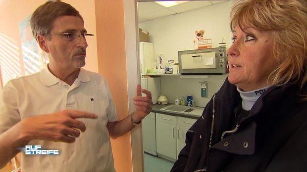 Auf Streife - Video - Beim Frauenarzt gefilmt - Sat.1