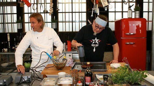 Kochen mit Knall: Stefan Marquard und Frank Buchholz kochen das perfekte Stea...