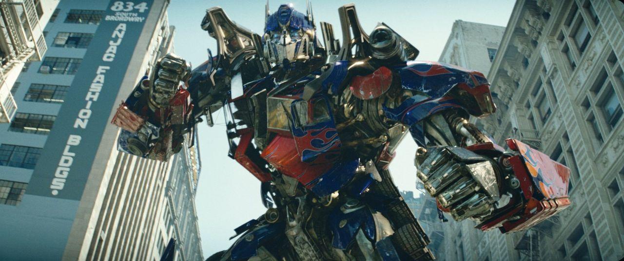 Vor langer Zeit lebten auf dem Planeten Cybertron die Transformer - eine hoch entwickelte Alien-Rasse formwandlungsfähiger Roboter, die sich in die... - Bildquelle: 2008 DREAMWORKS LLC AND PARAMOUNT PICTURES CORPORATION. ALL RIGHTS RESERVED.