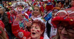 """In Köln wird Karneval vor allem """"Alaaf"""" gerufen – und gesungen."""