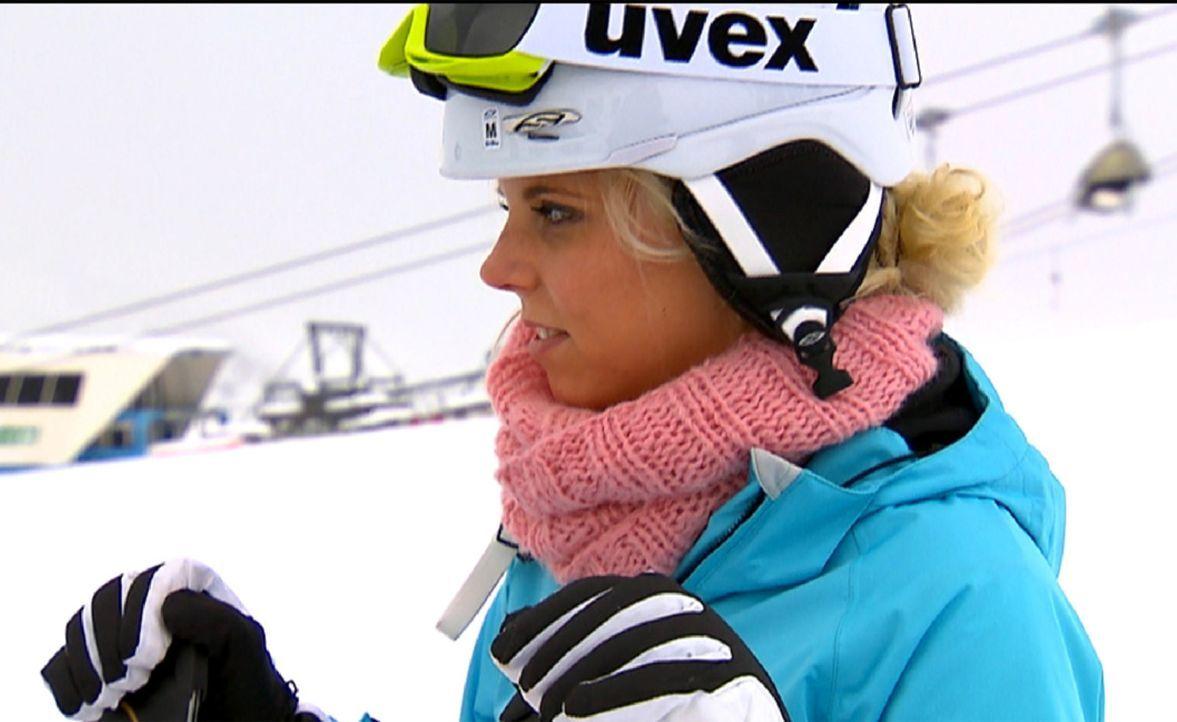 Testet ihr Wintersport-Talent, bevor es zur nächsten Après-Ski-Sause in Sölden geht: Leo ... - Bildquelle: ProSieben