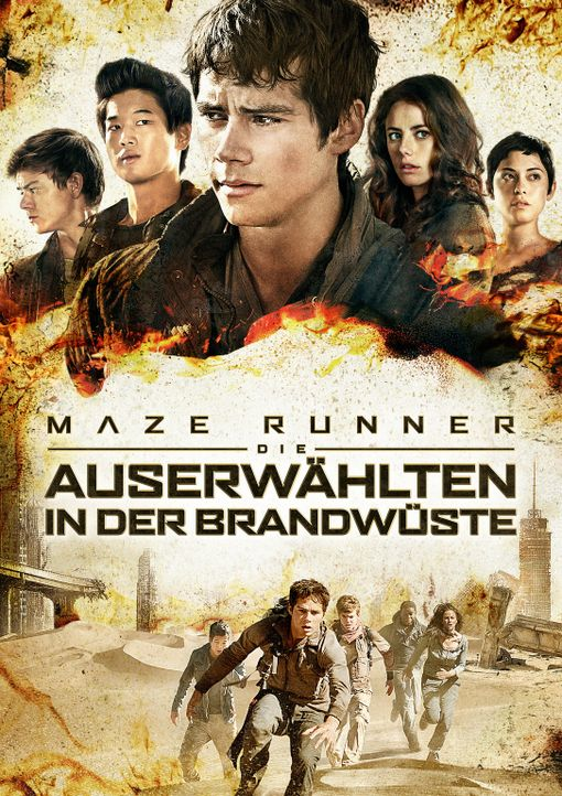 MAZE RUNNER - DIE AUSERWÄHLTEN IN DER BRANDWÜSTE - Artwork - Bildquelle: 2015 Twentieth Century Fox Film Corporation.  All rights reserved.
