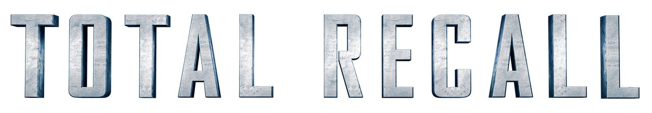 TOTAL RECALL - Logo - Bildquelle: Michael Gibson 2012 Columbia Pictures Industries, Inc.  All Rights Reserved. **ALL IMAGES ARE PROPERTY OF SONY PICTURES ENTERTAINMENT INC. FO