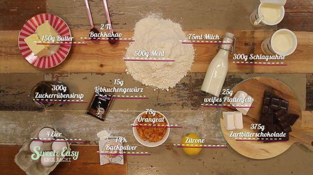 Lebkuchen Zutaten