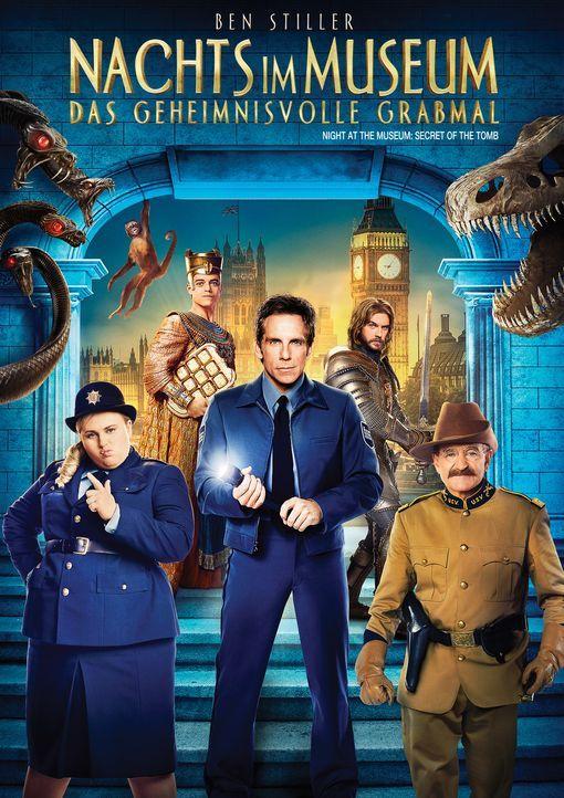Nachts im Museum - Das geheimnisvolle Grabmal - Plakatmotiv - Bildquelle: 2014 Twentieth Century Fox Film Corporation.  All rights reserved.