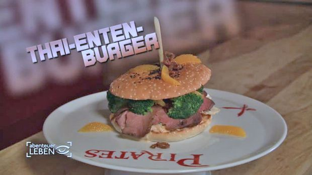 Thai-Enten-Burger