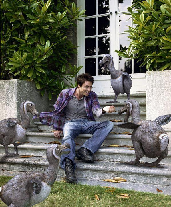 Noch versteht sich Stephen (James Murray) gut den Dodos ... - Bildquelle: ITV Plc