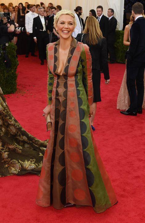 Costume-Institute-Benefit-Maggie-Gyllenhaal-14-05-05-AFP - Bildquelle: AFP