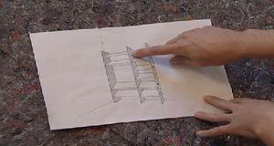 Mit entsprechender Vorlage können auch Anfänger ein Schuhregal selber bauen....