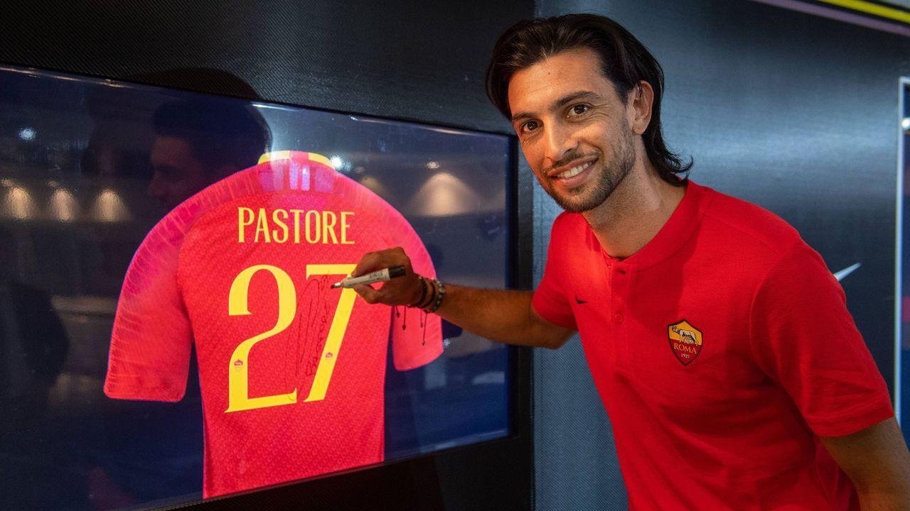 Javier Pastore (Zugang AS Rom) - Bildquelle: imago