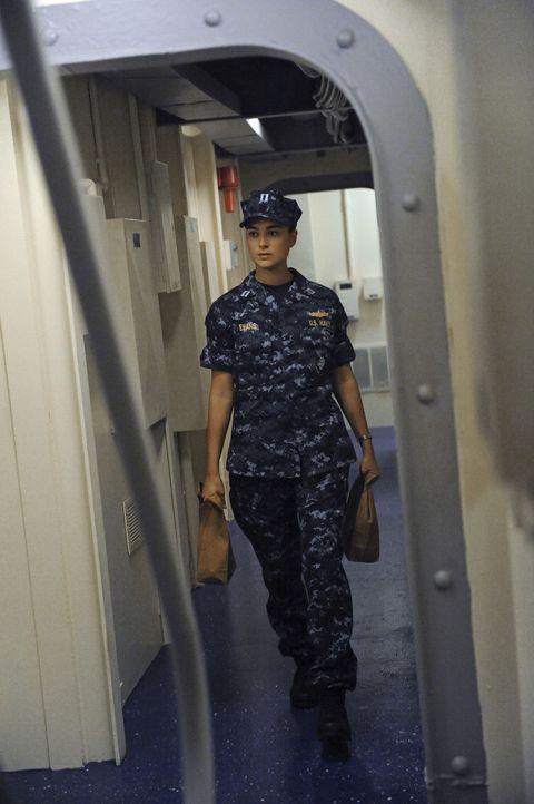 Der Terror gegen US-Navy-Schiffe geht weiter: DiNozzo und Ziva (Cote de Pablo) reisen nach Italien, um dort einen Fall aufzudecken ... - Bildquelle: 2012 CBS Broadcasting Inc. All Rights Reserved.