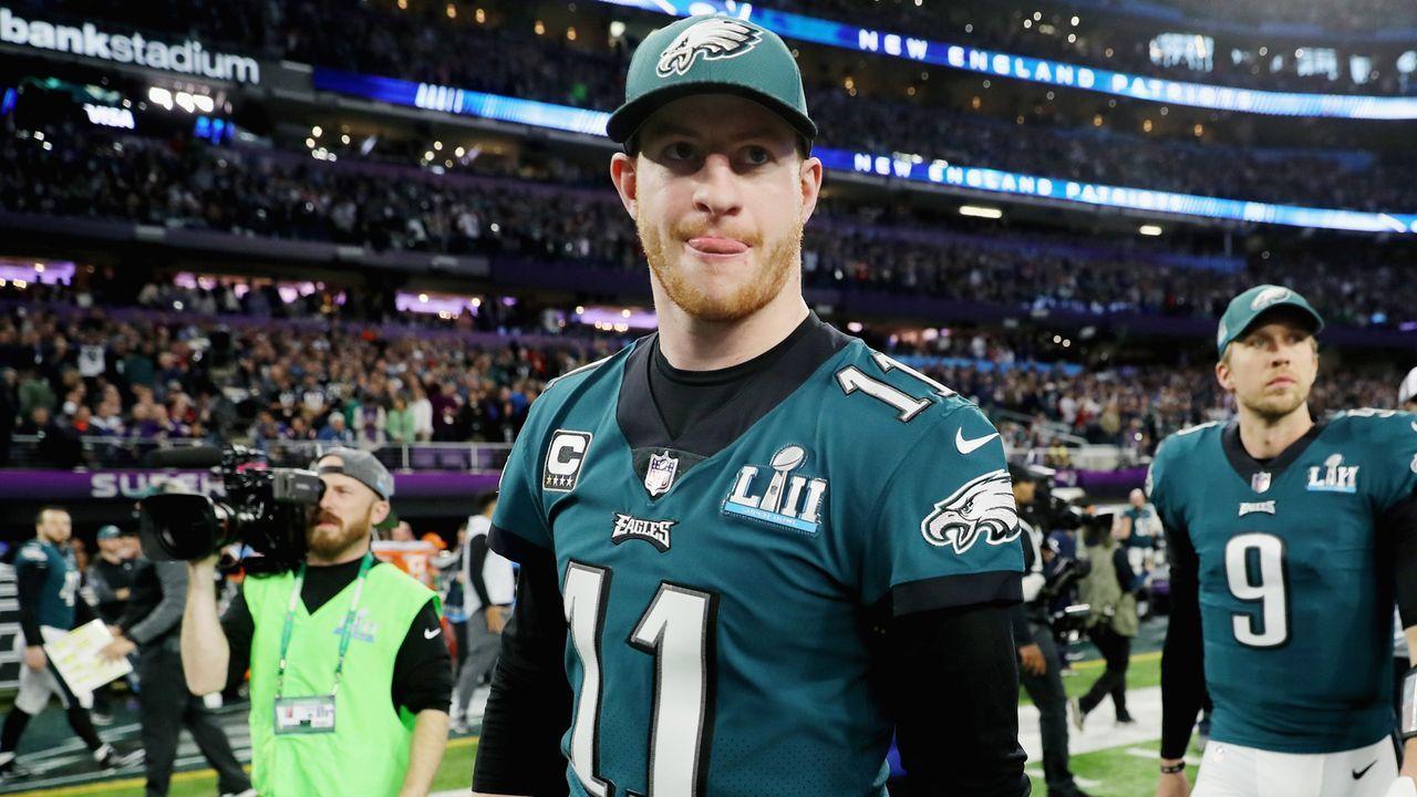2. Carson Wentz (Philadelphia Eagles) - Bildquelle: 2018 Getty Images