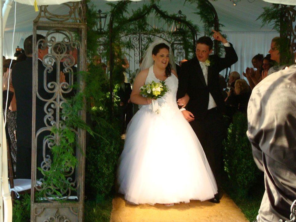 Braut Amanda hat irische Wurzeln und sie wünscht sich, dass sich ihre Herkun... - Bildquelle: Pilgrim Studios 2009
