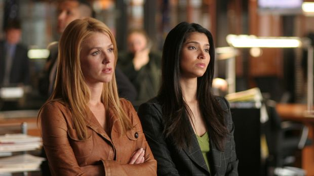 Ermitteln in einem schwierigen Fall: Samantha (Poppy Montgomery, l.) und Elen...