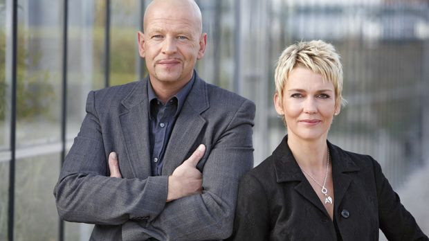 Die Kommissare Michael Naseband und Alexandra Rietz © Holger Rauner Sat.1