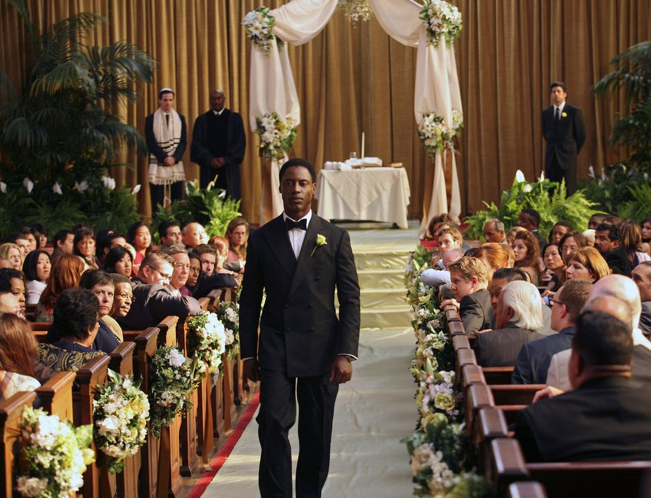 Was hat Burke (Isaiah Washington, M.) vor? - Bildquelle: Touchstone Television