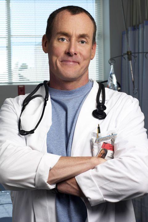 (1. Staffel) - Obwohl der Stationsarzt Dr. Phil Cox (John C. McGinley) seine Frischlinge stets mit zynischen Kommentaren versorgt, nimmt er sich den... - Bildquelle: Touchstone Television
