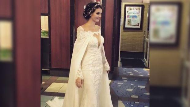 Betty Taube Nach Hochzeit So Schon War Das Brautkleid Prosieben