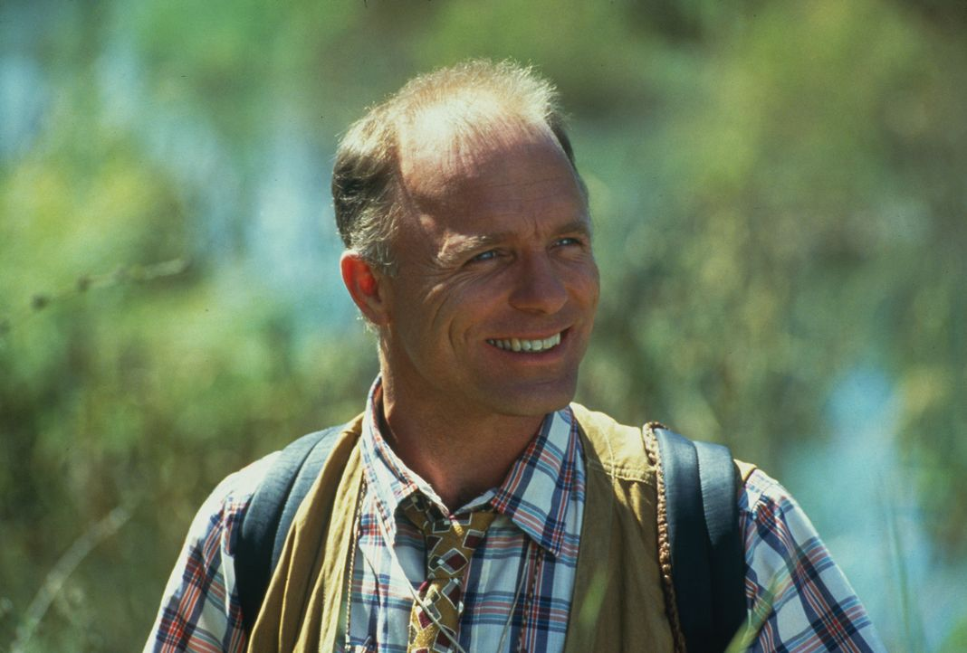 Hängt sein Herz an die Rettung eines ökologisch wertvollen Sumpfgebiets, doch dann begegnet er einer attraktiven Frau: Tom Wheeler (Ed Harris) ... - Bildquelle: TM, ® &   1994 by Paramount Pictures. All Rights Reserved.