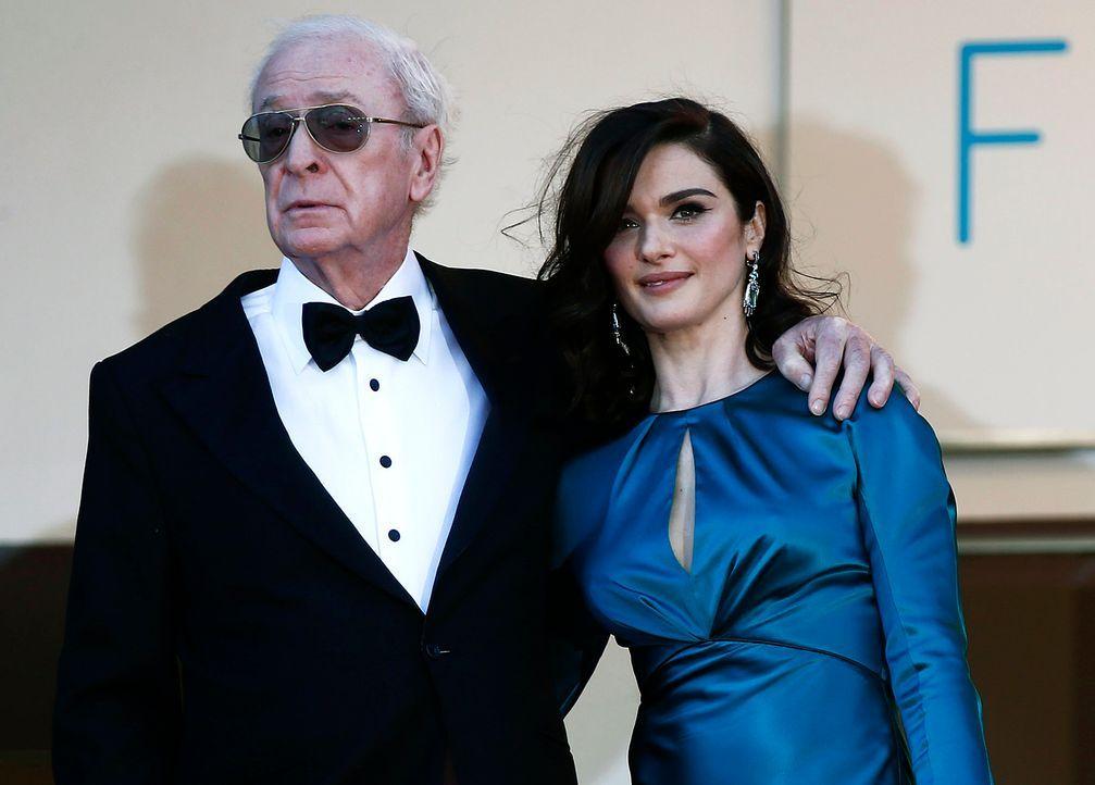 Cannes-Film-Festival-Sir-Michael-Caine-Rachel-Weisz-15-05-20-dpa - Bildquelle: dpa