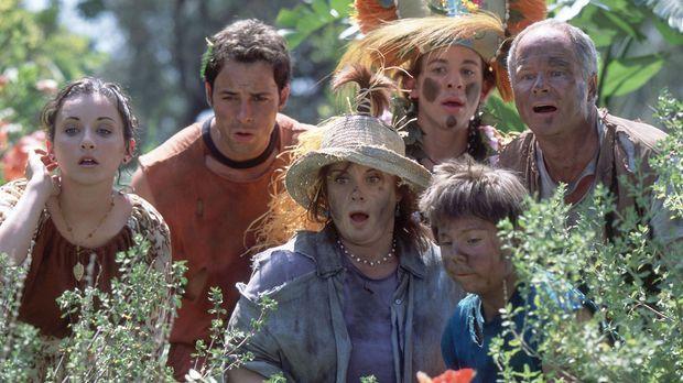 Als die Familie Stevens, (v.l.n.r.) Ren (Christy Carlson Romano), Donnie (Nic...
