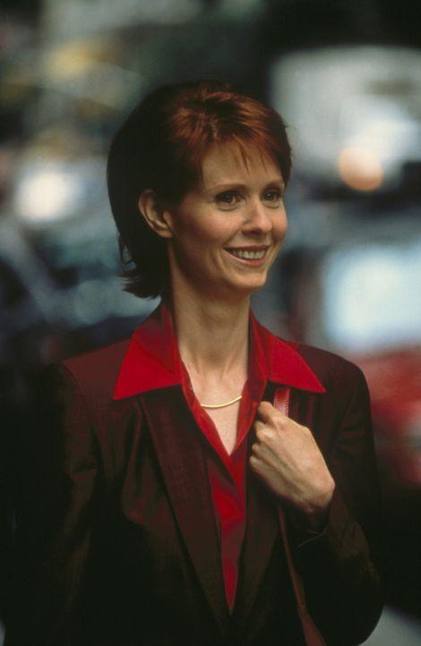 Während Trey und Charlotte zueinander finden, geht die Beziehung zwischen Miranda (Cynthia Nixon) und Steve auseinander. - Bildquelle: Paramount Pictures