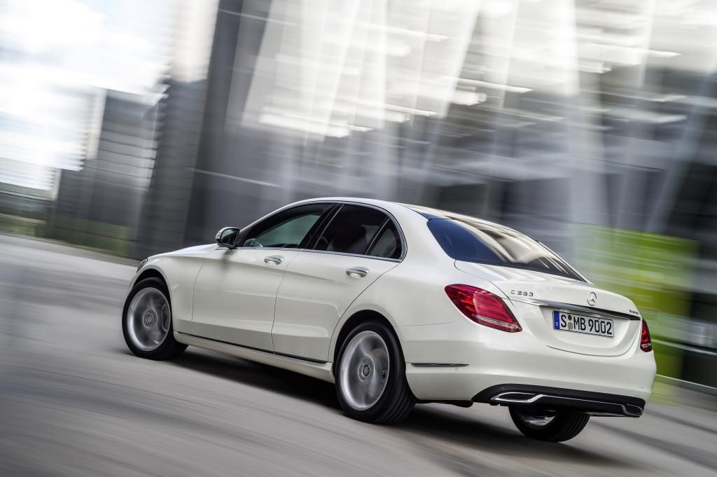 Mercedes-C-Klasse-Heck