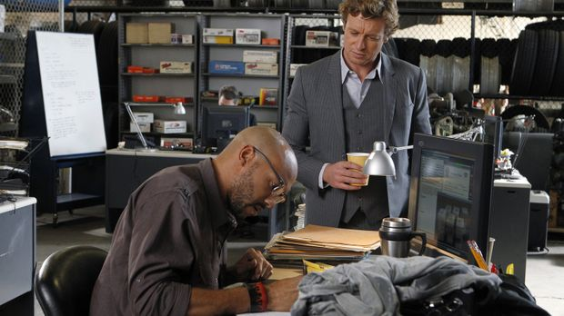 The Mentalist - Kann Trey Holcombe (Stephen Bishop, l.)Patrick (Simon Baker,...