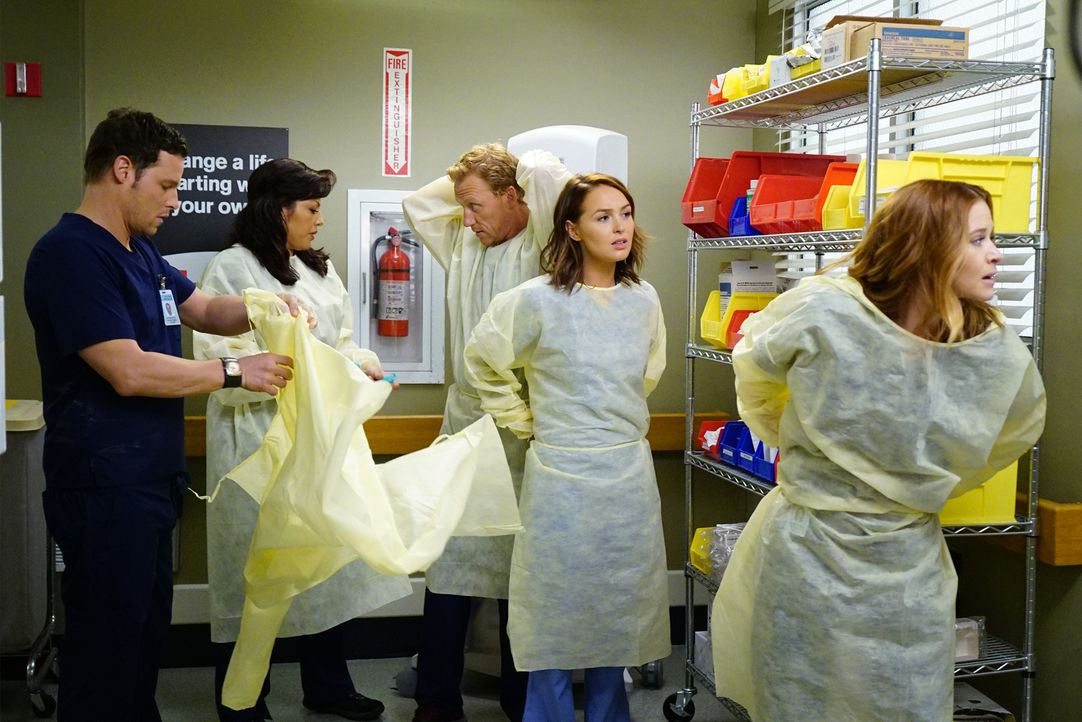 Während der Hauptverkehrszeit ist in der Stadt ein Tunnel eingestürzt. Die Ärzte des Grey Sloan Memorial Hospitals versuchen alles, um die Verletzte... - Bildquelle: ABC Studios