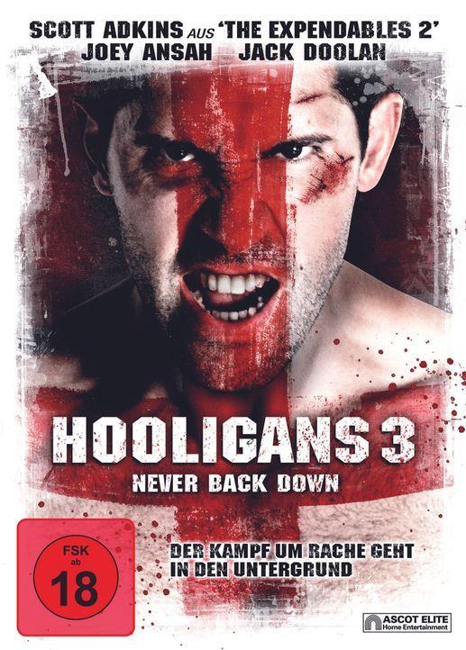 HOOLIGANS 3 - NEVER BACK DOWN - Plakatmotiv - Bildquelle: 2013 ASCOT ELITE Home Entertainment GmbH. Alle Rechte vorbehalten.