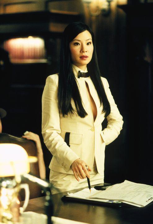 Ling (Lucy Liu) gefällt es ganz und gar nicht, dass Jackson ausgerechnet mit Renee ausgeht ... - Bildquelle: 2001 Twentieth Century Fox Film Corporation. All rights reserved.