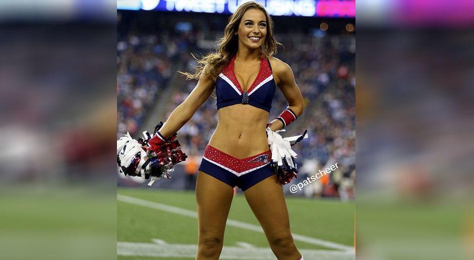 Patriots-Cheerleader - Bildquelle: www.instagram.com/patriotscheerleaders/