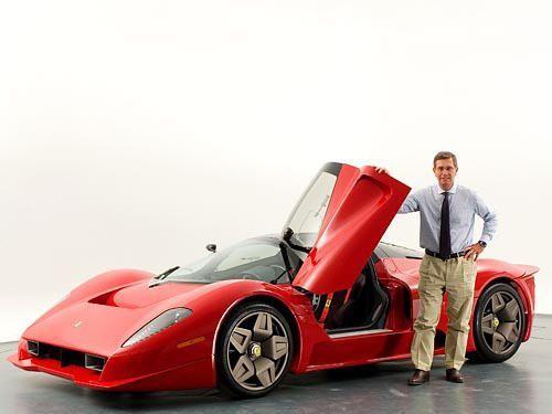 James Glickenhaus' Sondermodell - Bildquelle: Pininfarina